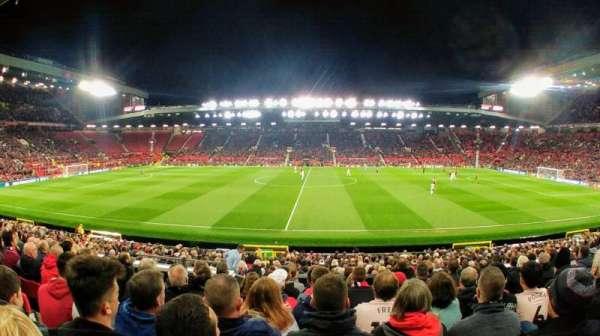 Old Trafford, section: N1407, row: 9, seat: 148