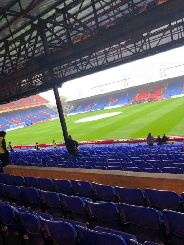 Selhurst Park, section: S, row: 30, seat: 33
