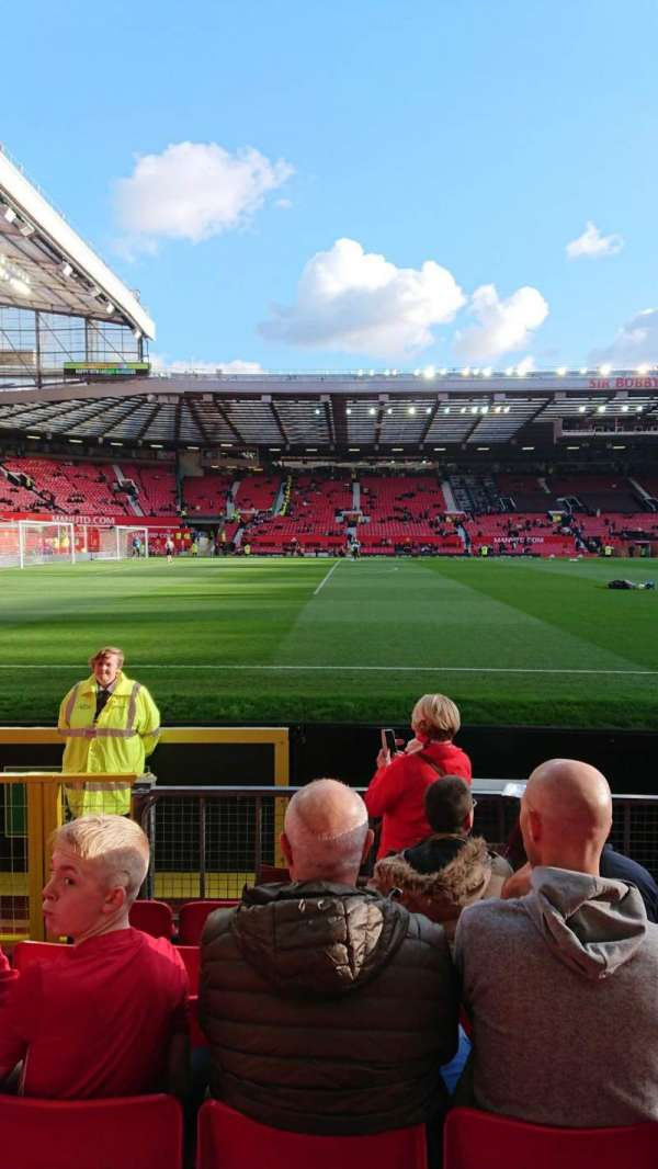 Old trafford , section: N1404, row: GG, seat: 229