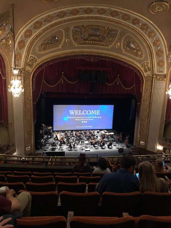 Orpheum Theatre (Memphis), section: Balcony, row: G, seat: 204