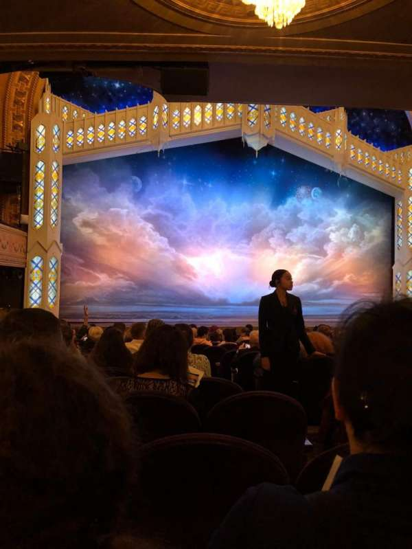 Eugene O'Neill Theatre, section: Orchestra Left, row: P, seat: 5