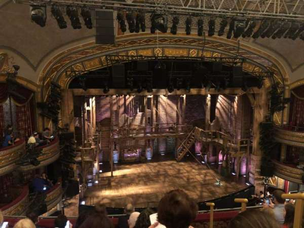 Richard Rodgers Theatre, section: Front Mezzanine L, row: F, seat: 1