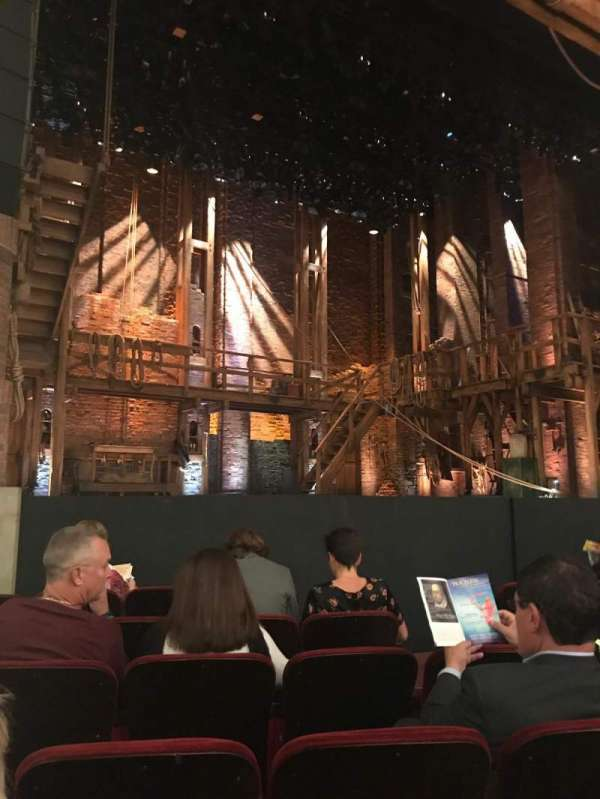 CIBC Theatre, section: Orchestra L, row: G, seat: 9