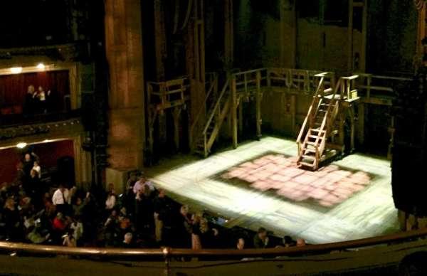 CIBC Theatre, section: Mezzanine R, row: d, seat: 18
