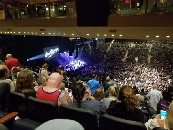 Madison square garden , section: 225, row: 19, seat: 6