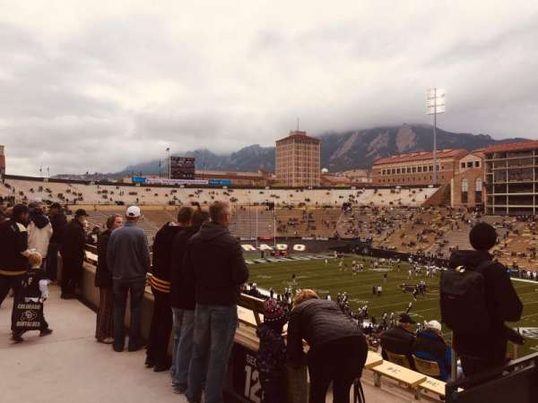 Folsom Field, section: 120