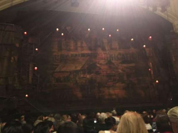 Orpheum Theatre (San Francisco), section: Orchestra, row: N, seat: 113