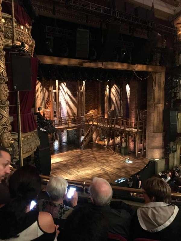 CIBC Theatre, section: Mezzanine Left, row: C, seat: 17