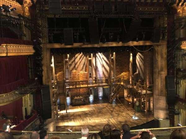 CIBC Theatre, section: Mezzanine LC, row: F, seat: 319