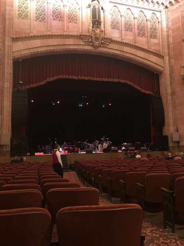 Hershey Theatre, section: Orchestra, row: S, seat: 3