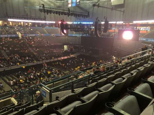 Chesapeake Energy Arena, section: 224, row: H, seat: 5