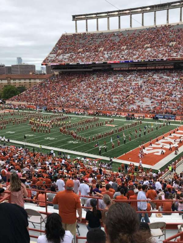 Texas Memorial Stadium, section: 22, row: 57, seat: 5