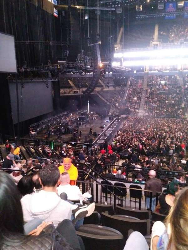 Barclays Center, section: 125, row: 8, seat: 14