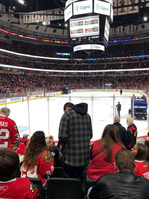 United Center, section: 104, row: 8, seat: 6