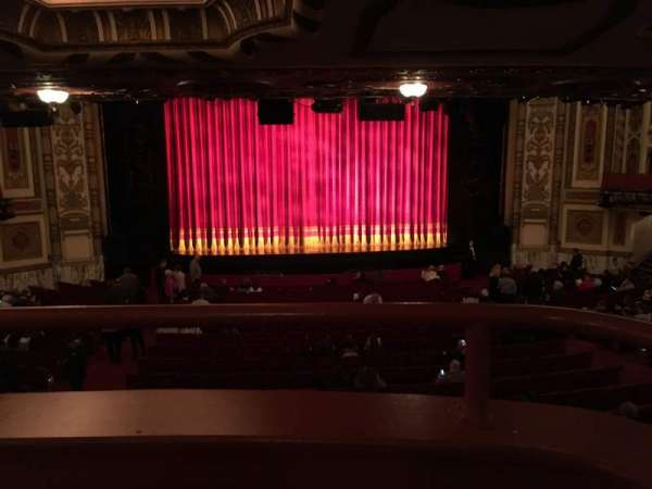 Cadillac Palace Theater, section: Dress Circle, row: A, seat: 212