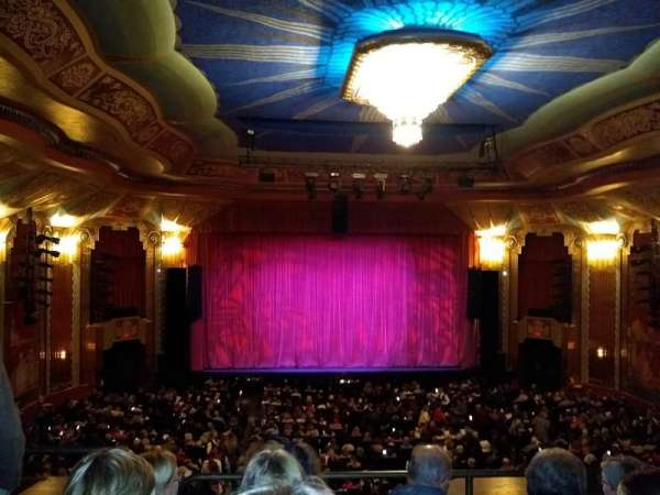 Paramount Theatre (Aurora), section: Balcony, row: DDD, seat: 102