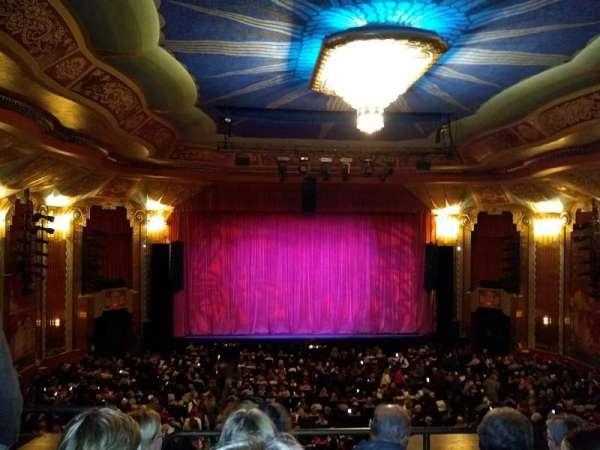 Paramount Theatre (Aurora), section: Balcony, row: DDD, seat: 102