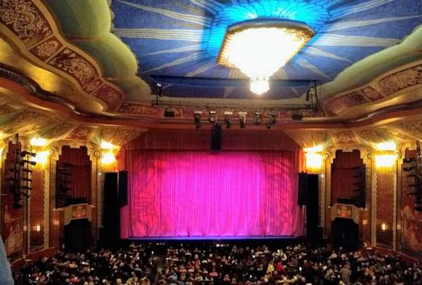 Paramount Theatre Aurora Section Balcony Row Ddd Seat