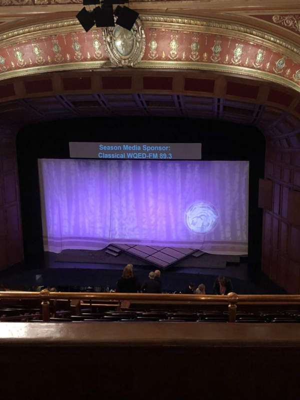 Benedum Center, section: 2nd Tier Right Center, row: O, seat: 32