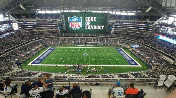 AT&T Stadium, section: 412, row: 29, seat: 7