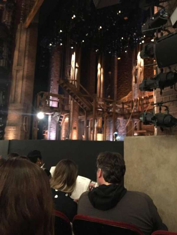 CIBC Theatre, section: Orchestra R, row: E, seat: 20