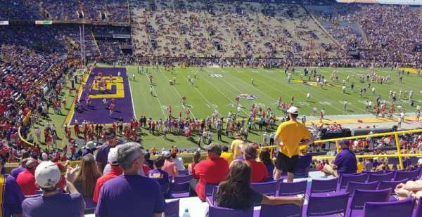 Tiger Stadium, section: 410, row: 17, seat: 13