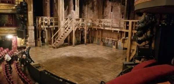 Richard Rodgers Theatre, section: Box D, row: 1, seat: 3
