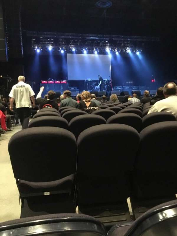 Hard Rock Rocksino Northfield Park, section: 2, row: P, seat: 1