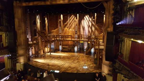 CIBC Theatre, section: Mezzanine RC, row: A, seat: 322
