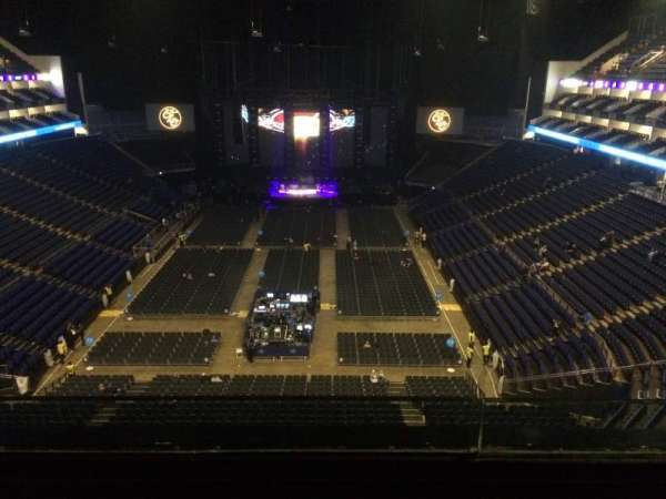 The O2 Arena, section: 412, row: B, seat: 728
