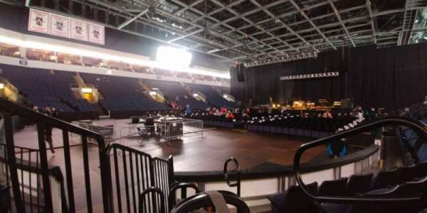 Allen Event Center, section: 119, row: D, seat: 12