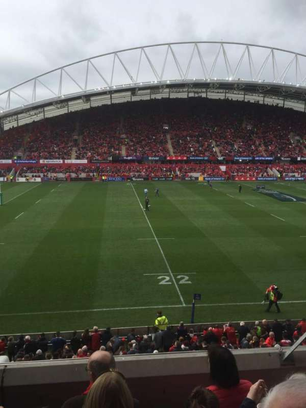 Thomond Park, section: 207, row: D, seat: 188