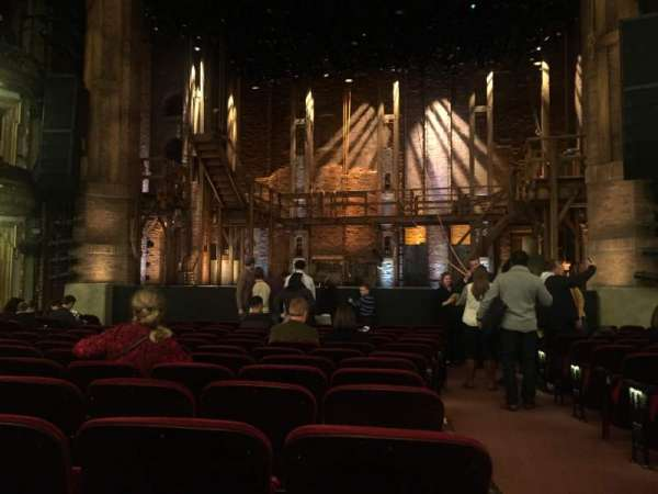 CIBC Theatre, section: Orchestra C, row: N, seat: 113,114