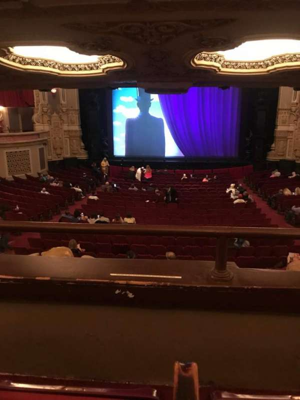 Nederlander Theatre (Chicago), section: Dress Circle C, row: B, seat: 207