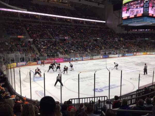 Allen County War Memorial Coliseum, section: 206, row: 10, seat: 3