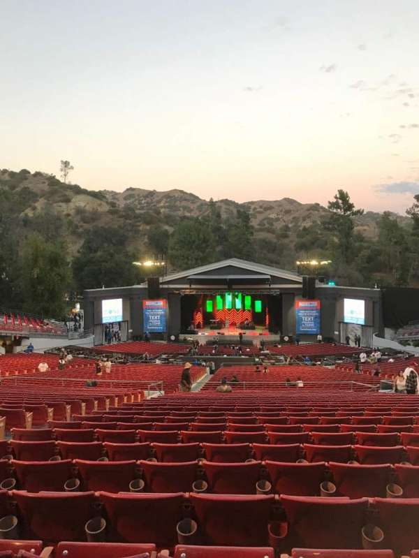 The Greek Theatre , section: Bench Right, row: C, seat: 10-12