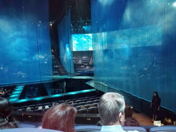 Love Theatre - The Mirage, section: 207, row: P, seat: 9