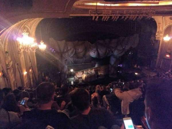Majestic Theatre, section: Rear Mezzanine Left, row: K, seat: 1and3