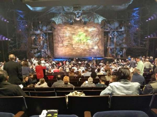 Gershwin Theatre, section: Orchestra C, row: W, seat: 109 and 110