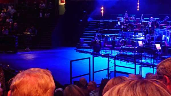 Royal Albert Hall, section: Stalls M, row: 8, seat: 130