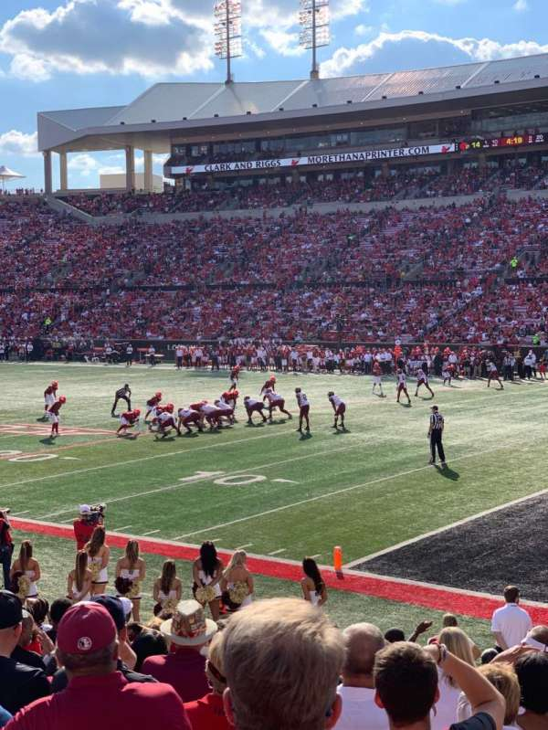 Papa John's Cardinal Stadium, section: 102, row: P, seat: 2