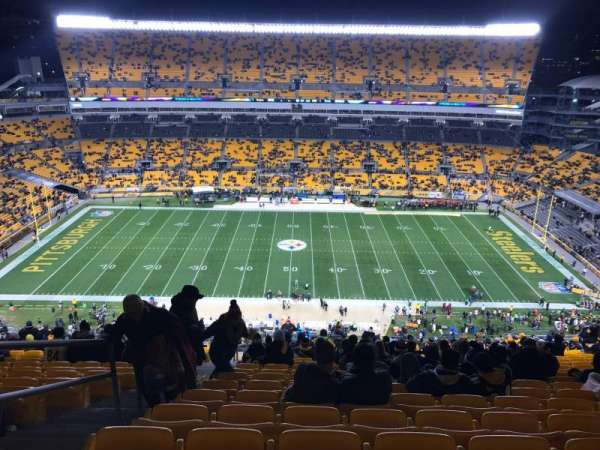 Heinz Field, section: 535, row: DD, seat: 23