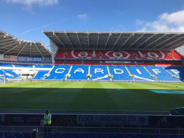 Cardiff City Stadium, section: 206, row: L, seat: 351