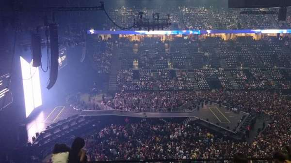 AccorHotels Arena, section: N, row: 87, seat: 32