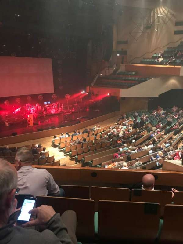 St David's Hall, section: C, row: D, seat: 9