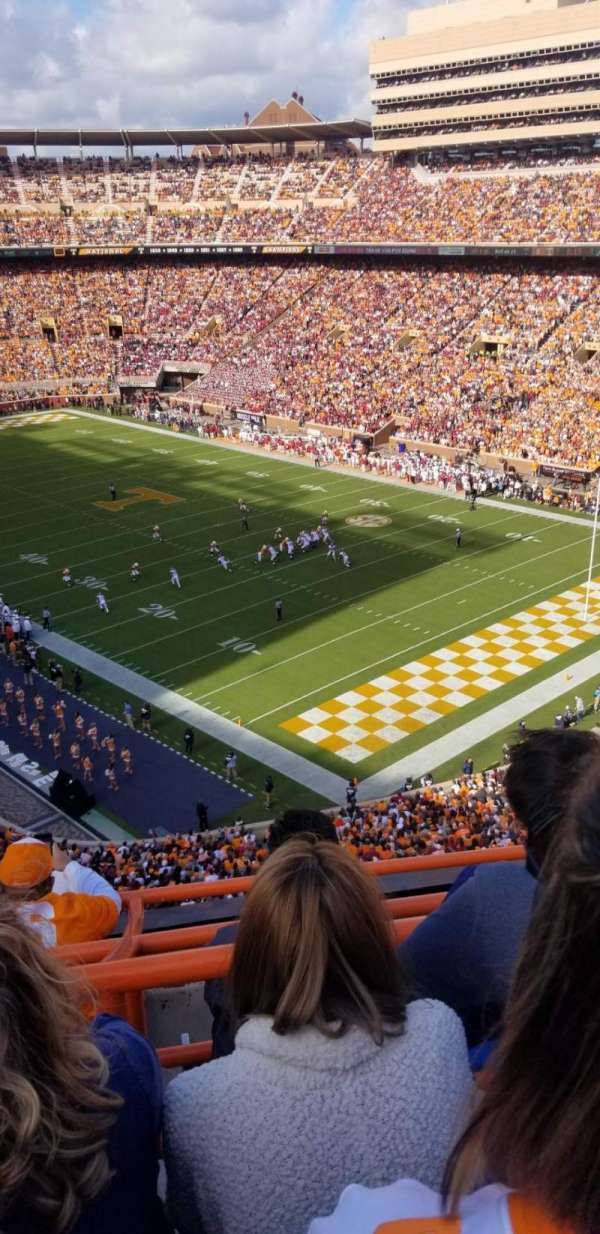 Neyland Stadium, section: PP, row: 3, seat: 14