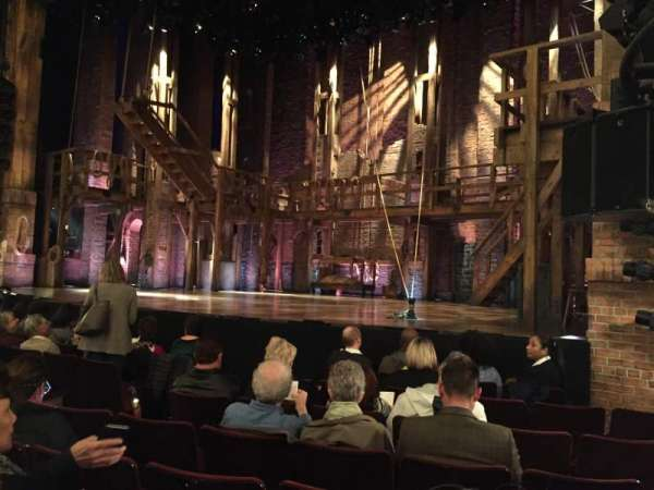 Richard Rodgers Theatre, section: Orchestra R, row: G, seat: 16