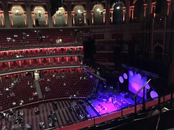 Royal Albert Hall, section: Circle x, row: 5, seat: 204