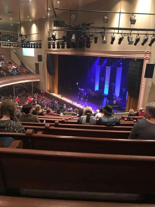 Ryman Auditorium, section: BAL-10, row: N, seat: 5