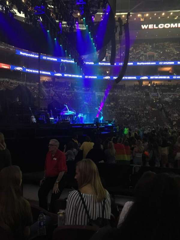 Wells Fargo Center, section: 123, row: 5, seat: 3